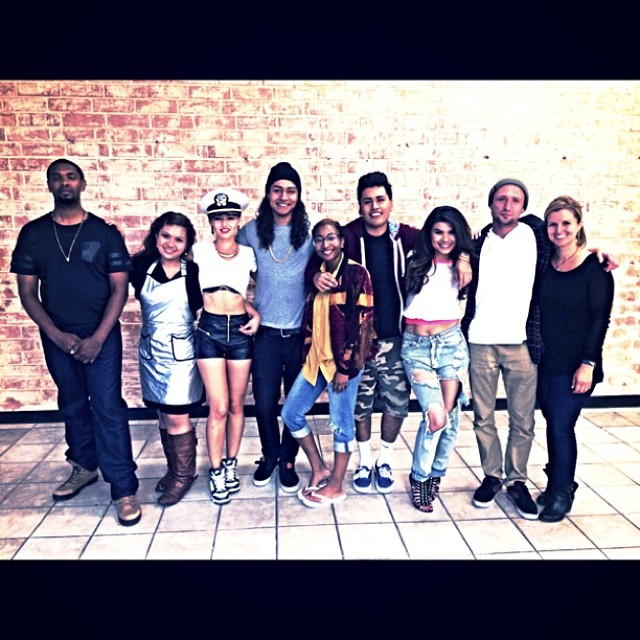 crew after shoot